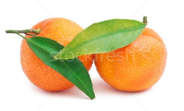 Tangerines Stock photo © sailorr