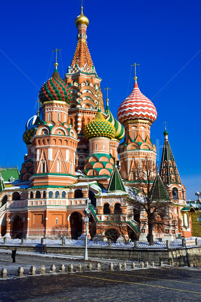 Photo stock: Saint · basilic · cathédrale · Place · Rouge · Moscou · Russie
