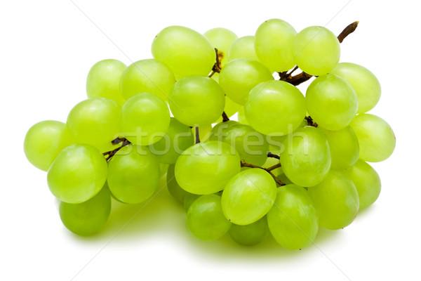 Uvas ramo isolado branco natureza verde Foto stock © sailorr