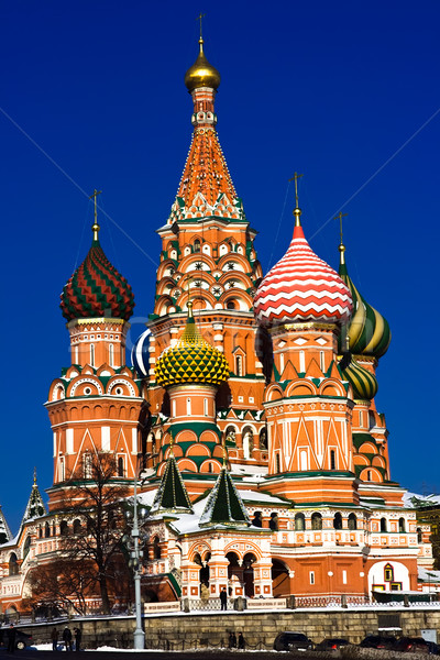 ストックフォト: バジル · 大聖堂 · 赤の広場 · モスクワ · ロシア