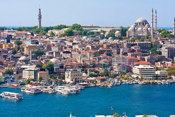 ホーン イスタンブール パノラマ 表示 塔 ストックフォト © sailorr