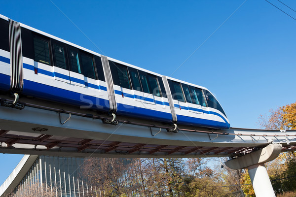 Monorail train Stock photo © sailorr