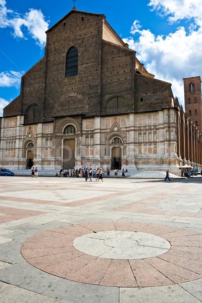 Bazilika hatalmas gyönyörű katedrális fény nyár Stock fotó © sailorr