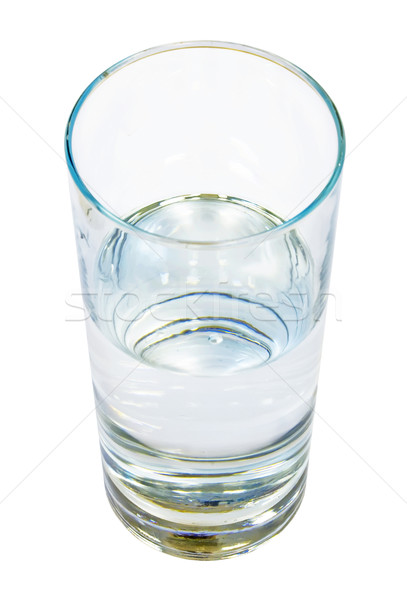 Glass of clear water Stock photo © sailorr