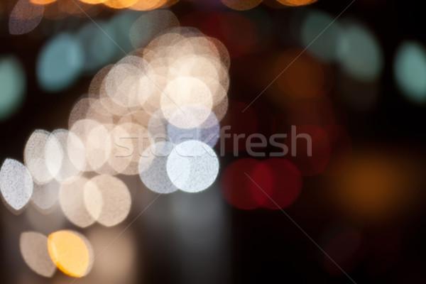 Night road Stock photo © sailorr
