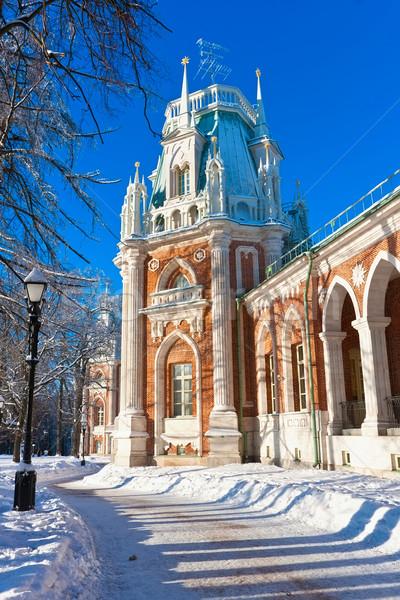 Mosca museo riserva parco Russia cielo Foto d'archivio © sailorr