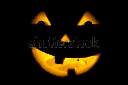 ストックフォト: かわいい · ランタン · キャンドル · 光 · 笑顔