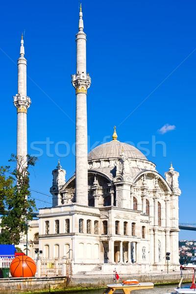 モスク 銀行 イスタンブール トルコ 空 海 ストックフォト © sailorr