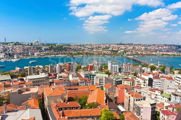 Роге Стамбуле панорамный мнение башни Сток-фото © sailorr