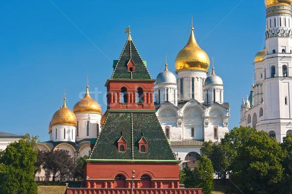 モスクワ クレムリン 美しい 表示 壁 ロシア ストックフォト © sailorr
