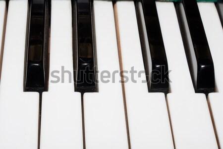 Piano Stock photo © sailorr