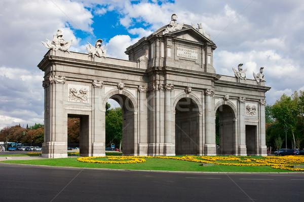 Puerta de Alcala Stock photo © sailorr