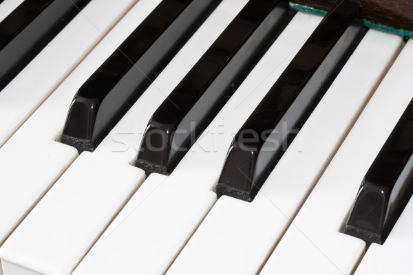 Piano keyboard Stock photo © sailorr