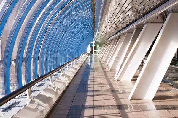 Passaggio ufficio ponte sereno riflessioni business Foto d'archivio © sailorr