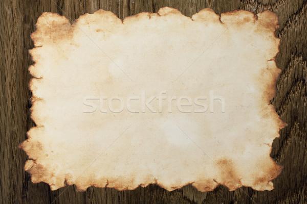 Carta nice legno texture mappa Foto d'archivio © sailorr