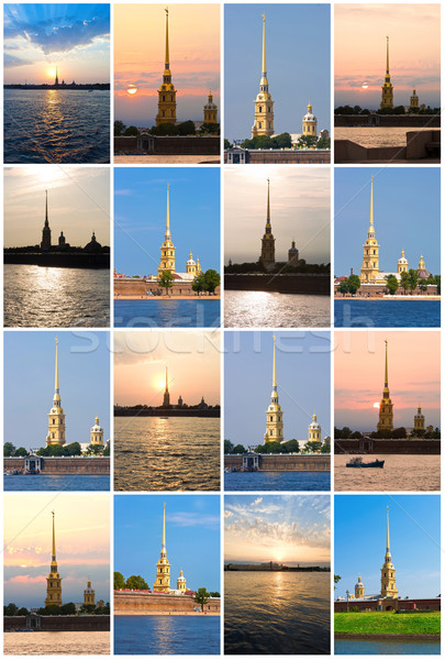 Peter and Paul fortress in St. Petersburg Stock photo © sailorr