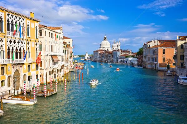 Venezia bella view noto canale Italia Foto d'archivio © sailorr