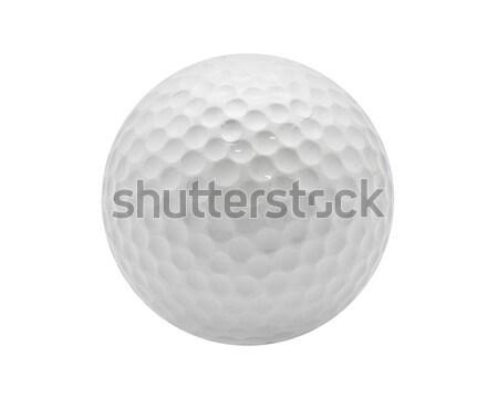 мяч для гольфа Nice изолированный белый спорт клуба Сток-фото © sailorr