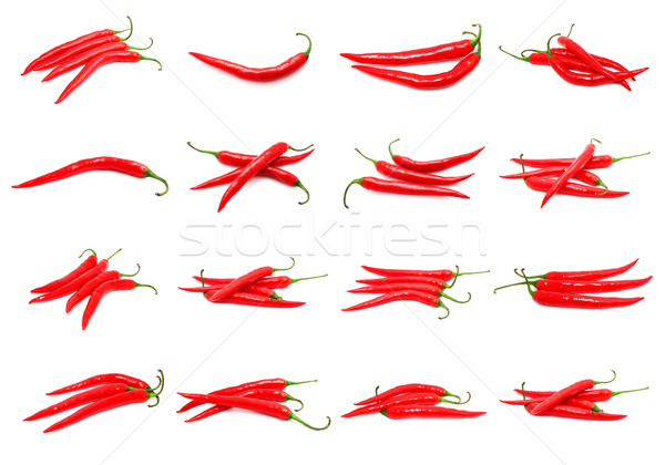 Chili peppers Stock photo © sailorr