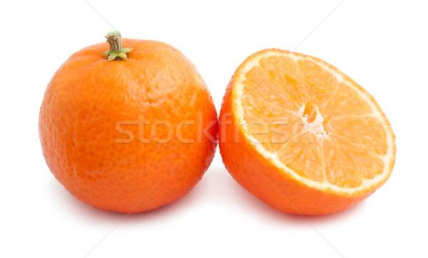 ジューシー 孤立した 白 食品 オレンジ 新鮮な ストックフォト © sailorr