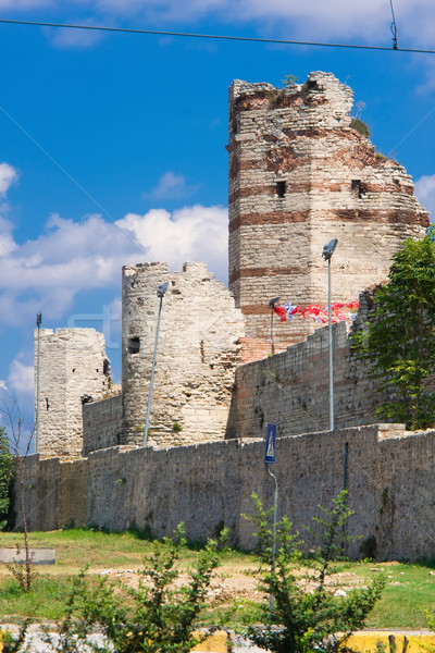 Istanbul City Walls Stock photo © sailorr