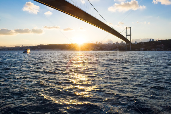 Bosphorus Bridge Stock photo © sailorr