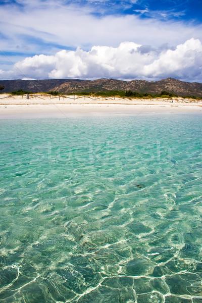 Spiaggia Cinta, Sardegna Stock photo © sailorr