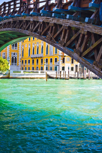 Academia Bridge in Venice Stock photo © sailorr