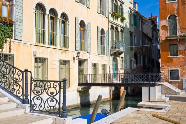 Bridges in Venice Stock photo © sailorr
