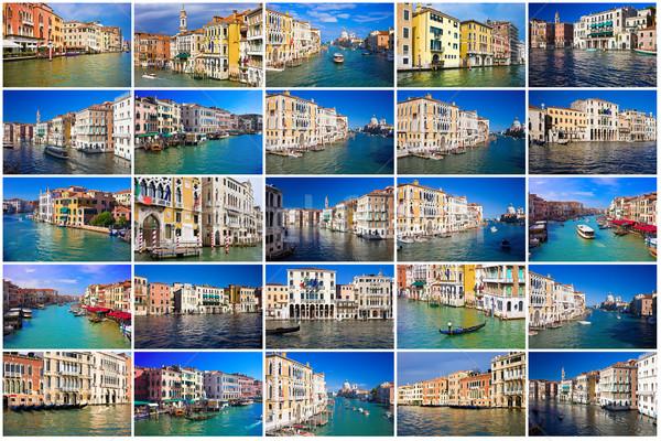 Grand Canal in Venice Stock photo © sailorr