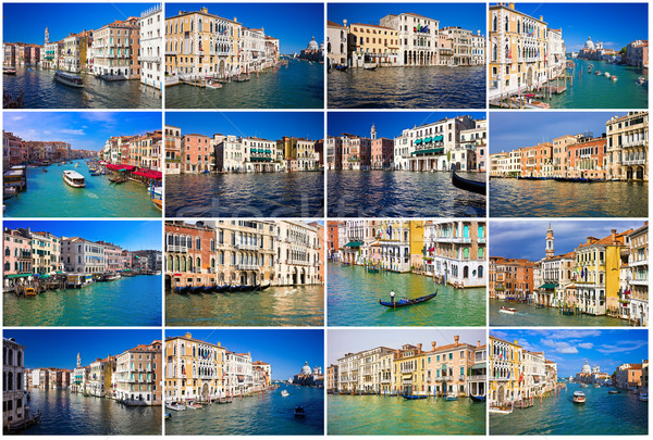 Grand Canal in Venice Stock photo © sailorr