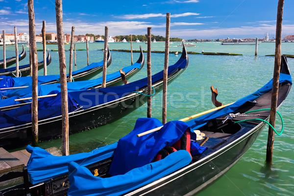 Venedik güzel görmek ünlü venedik İtalya Stok fotoğraf © sailorr