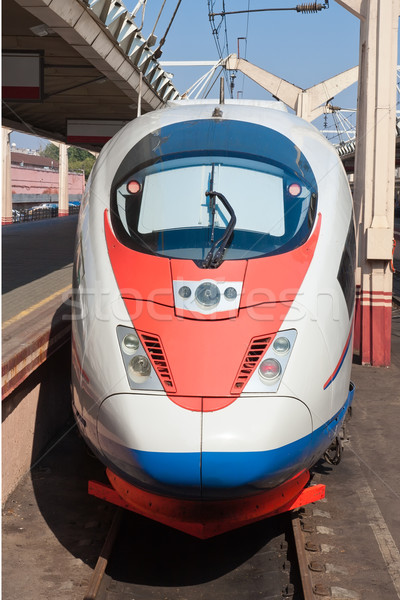 Modern train Stock photo © sailorr