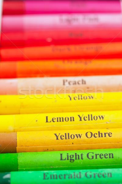 Artistic pastels Stock photo © sailorr