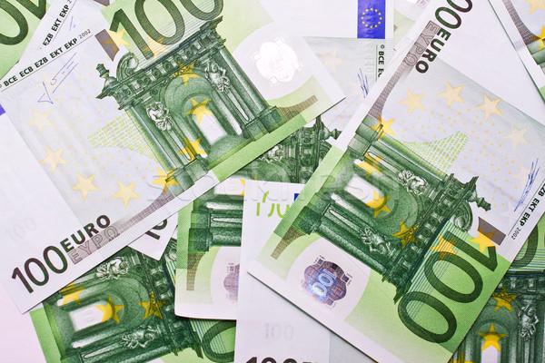 Euro money Stock photo © sailorr