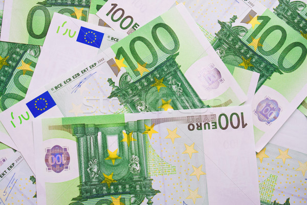 Euro soldi molti Foto d'archivio © sailorr