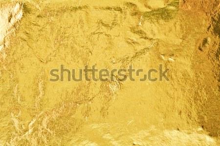 Or or résumé texture fond jaune Photo stock © sailorr