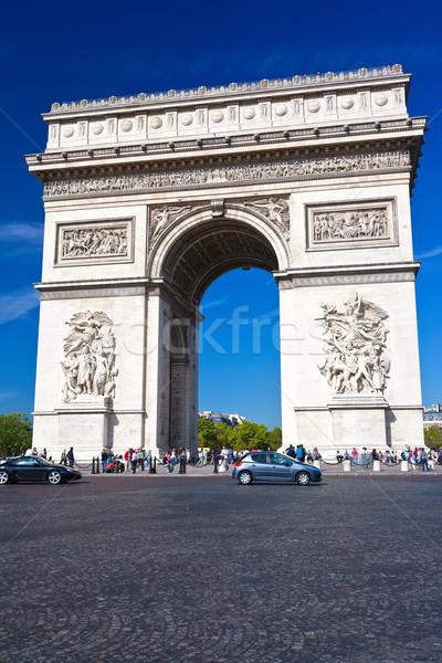 Arc de Triomphe Stock photo © sailorr