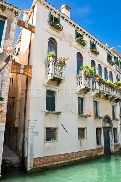 Venetian house Stock photo © sailorr