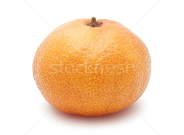 Mandarijn sappig mandarijn- geïsoleerd witte voedsel Stockfoto © sailorr