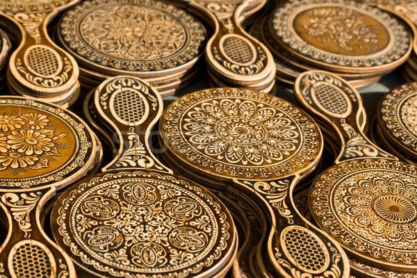 русский искусства желтый торговли Кора тесные Сток-фото © sailorr