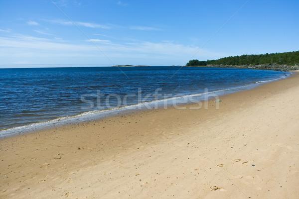морем Nice фото побережье лет солнце Сток-фото © sailorr
