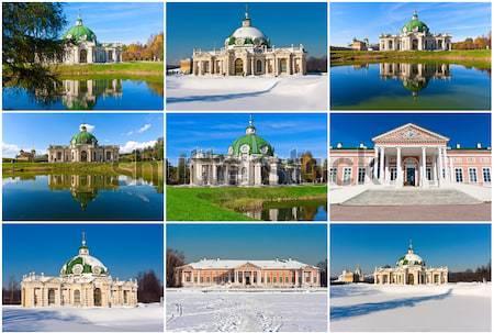 Iglesias colección cielo ciudad viaje Foto stock © sailorr