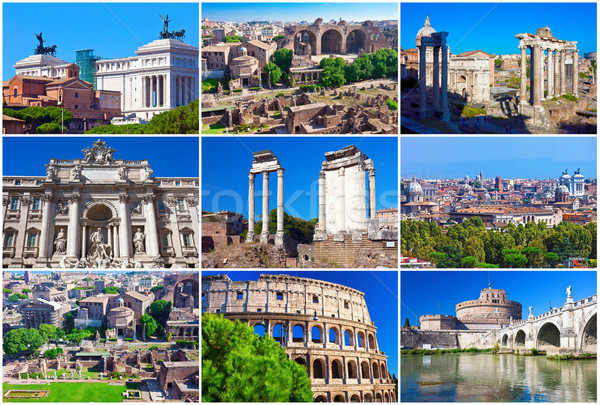 Rome collection Stock photo © sailorr