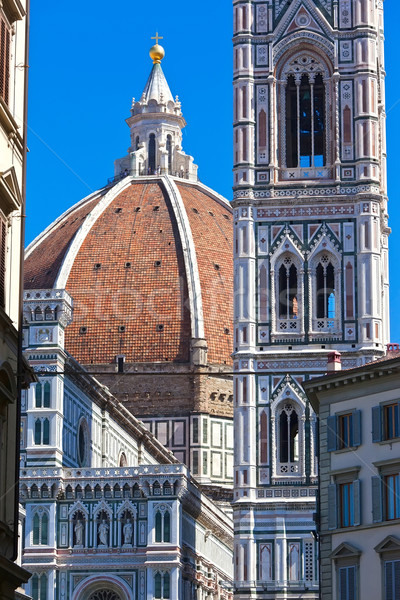 Floransa katedral ünlü bazilika Bina Stok fotoğraf © sailorr
