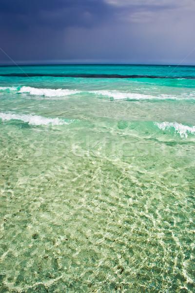 Beach in Sardinia Stock photo © sailorr