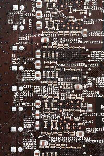 Electronic circuit board Stock photo © sailorr