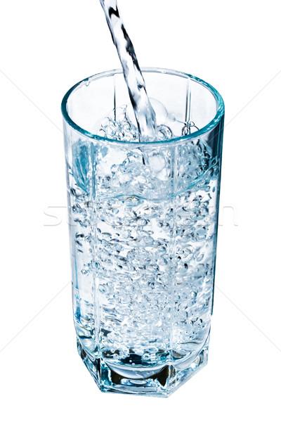воды стекла свежие синий пить белый Сток-фото © sailorr