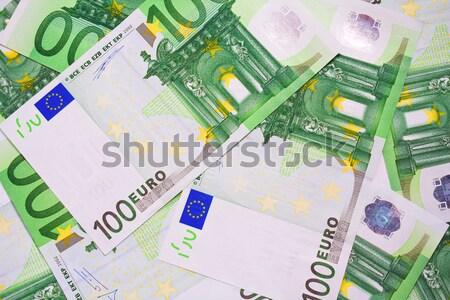 евро деньги многие европейский Сток-фото © sailorr