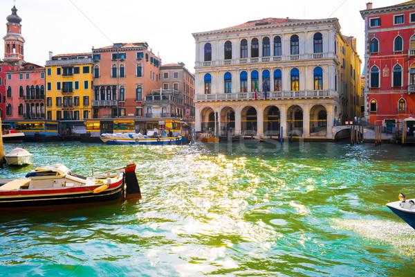 Grand Cana in Venice Stock photo © sailorr